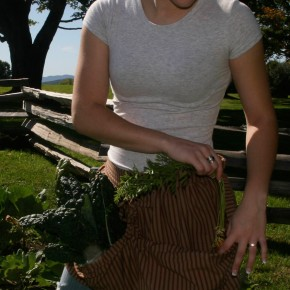 Gathering bag Apron by The Vermont Apron Company
