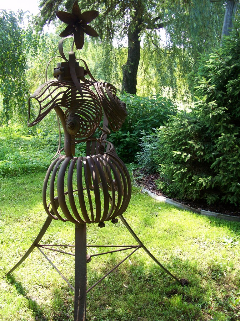 Cady Falls Nursey-Art in the Garden-Dress Form