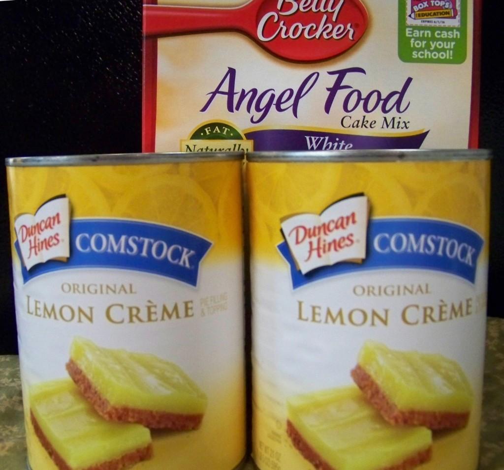 Lemon Comstock Cake