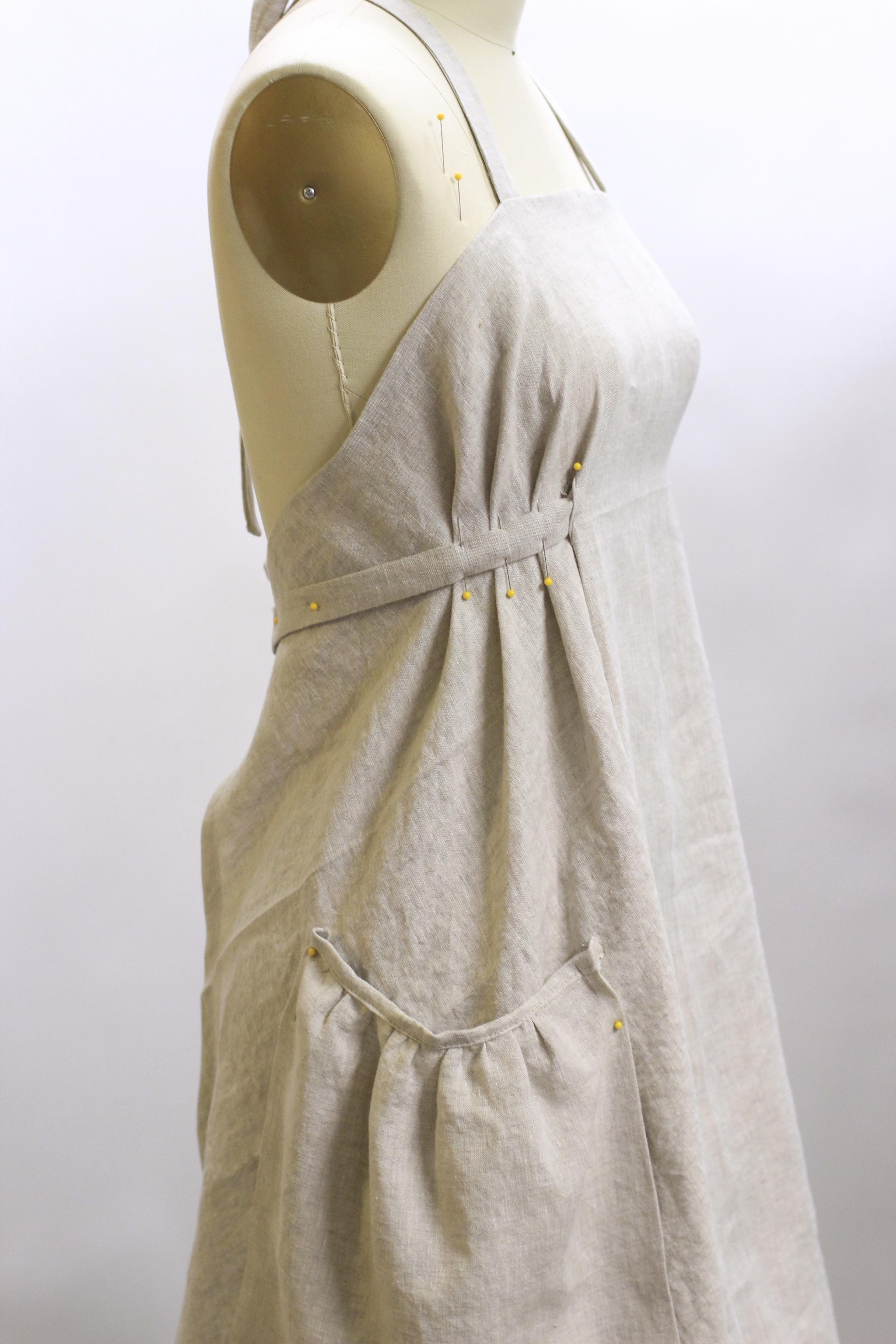 White linen apron - Vermont Apron Company 067
