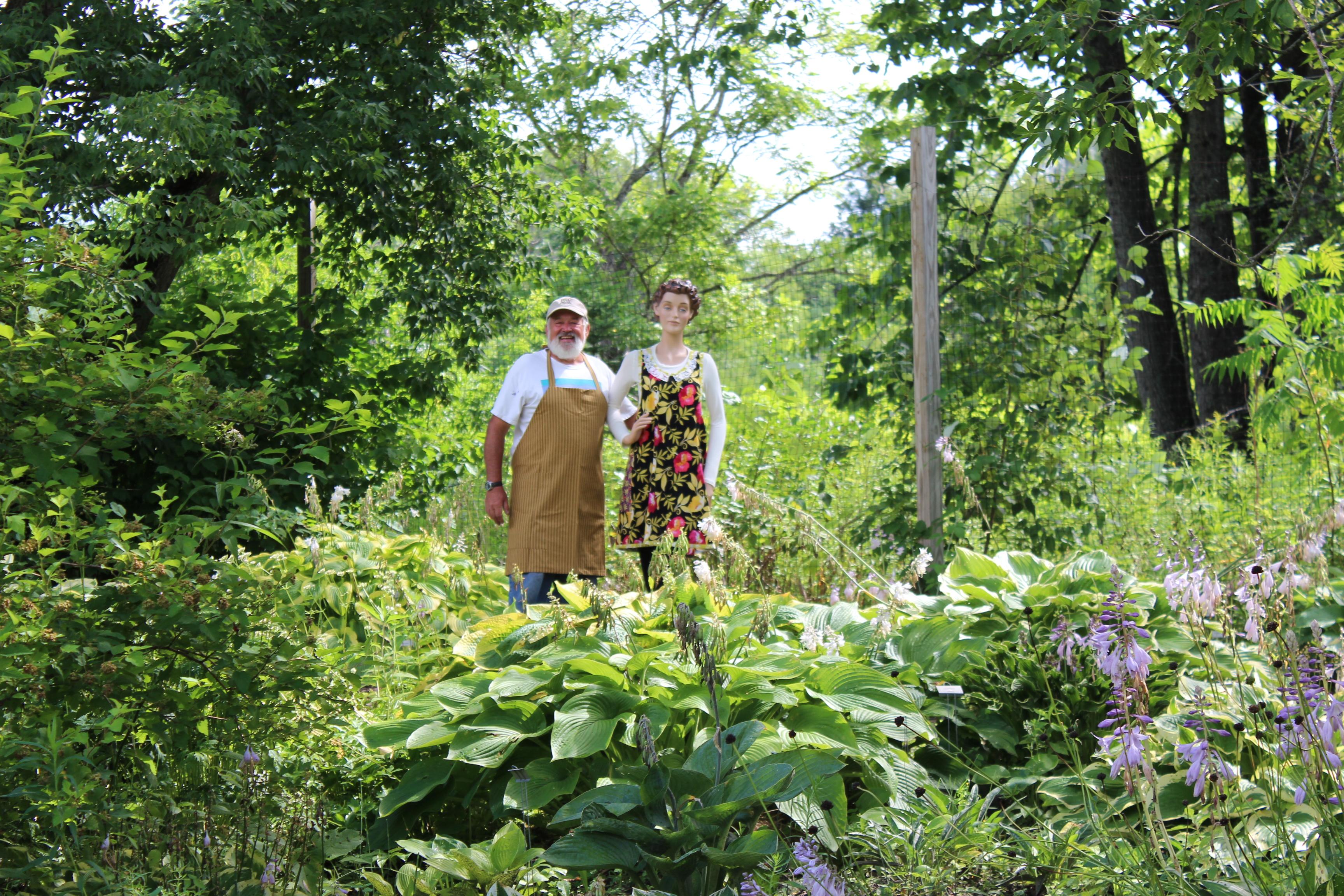 The Vermont Flower Farm's Hosta Garden