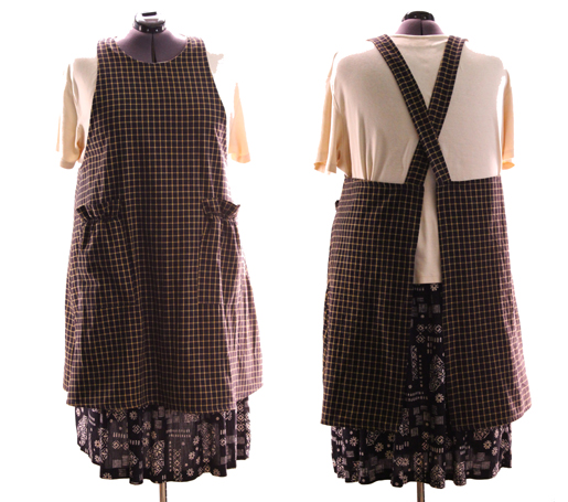 No Tie Aprons add Homespun to the Collection