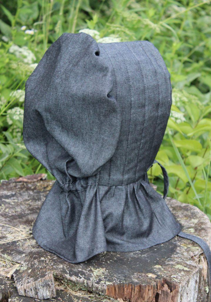 Black Denim Bonnet 2