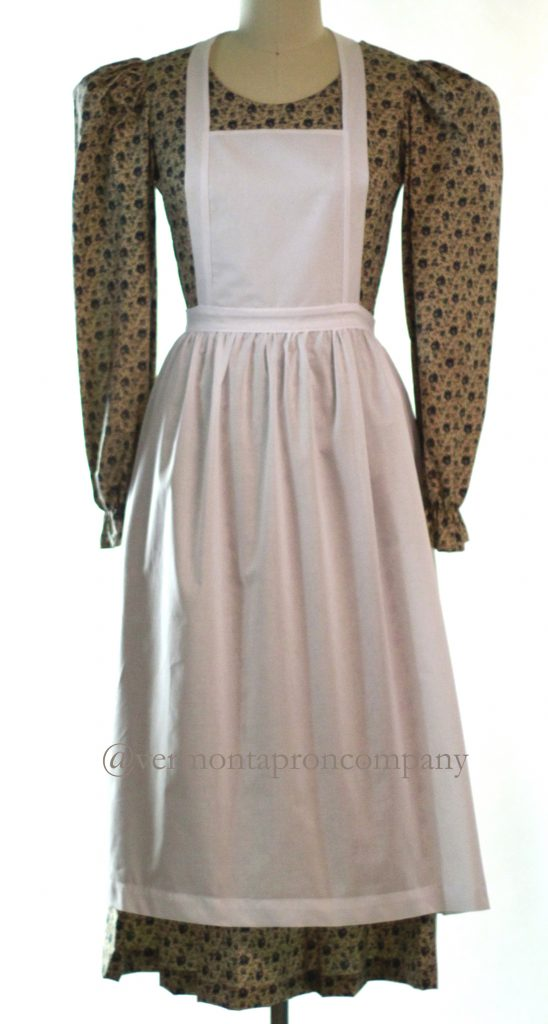 White Aprons -New Batiste Bib Apron by The Vermont Apron Company