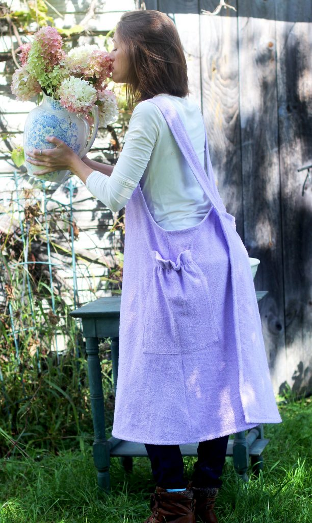 The Terry Cloth Apron by The Vermont Apron Company