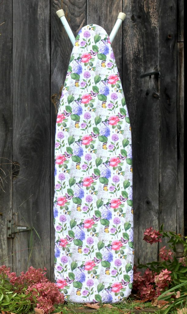 Ironing Board Cover in a Pretty Multi Floral.