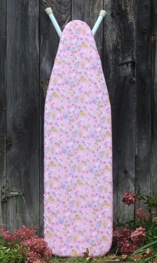 Ironing Board Cover in Pink Floral
