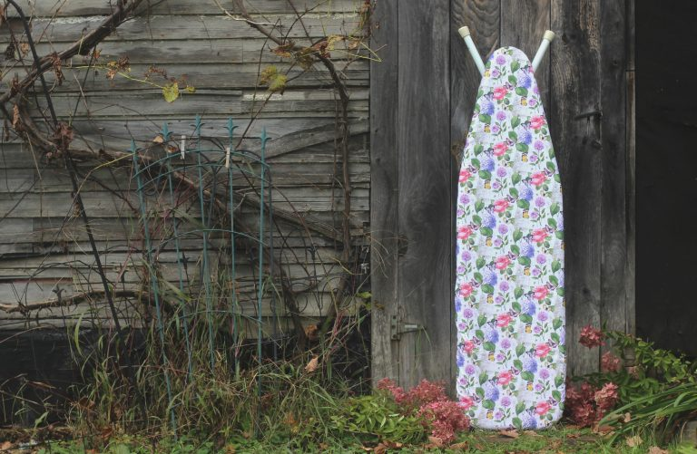 Ironing Board Cover at an Old Barn